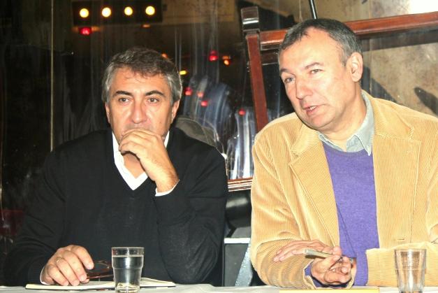 José Luis Ramon et Thierry Vignal qui assurait la traduction © Marie-Luce Baccellieri