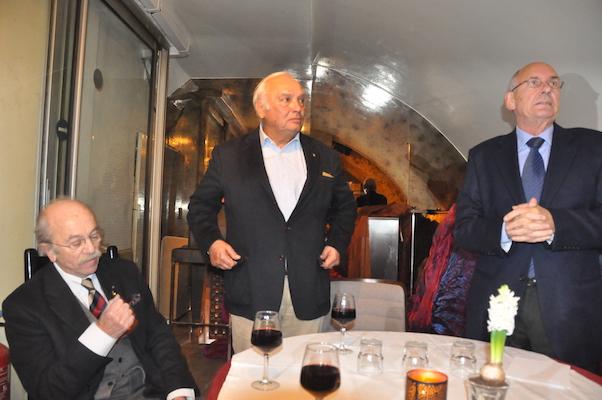 Jacques Tricon, Jean-Luc Couturier et Jean-Pierre Hedouin