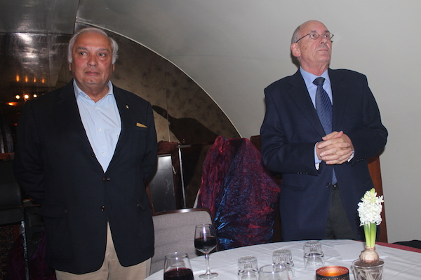 Jean-Luc Couturier et Jean-Pierre Hedouin